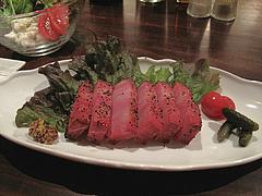 8バー:自家製ベーコンの厚切りステーキ@イタリアン・ワインバー・SUGIYA(スギヤ)・赤坂