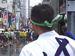 博多祇園山笠の男衆