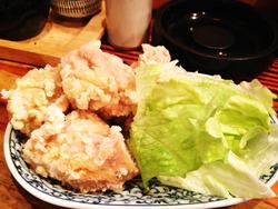 12鶏の唐揚げ@お食事処うれしや