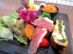 13ランチ:前菜サラダ@食堂シェモア・フレンチ・イタリアン・洋食