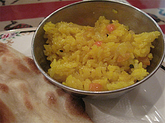 11ランチ:インド風チャーハン(ビリヤニ)@シブシャンカル城西店