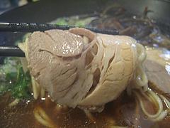 料理:醤油鶏豚骨てんきらーめんチャーシュー@麺や・てんき・平尾