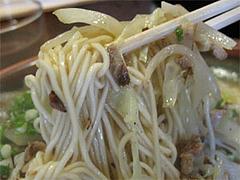 料理:焼らーめん麺@博多らあめん・てん・大橋