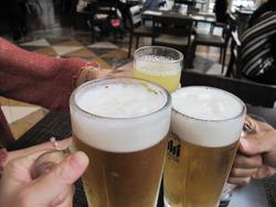 4生ビールとソフトドリンク@シアラブッフェ・ヒルトン福岡