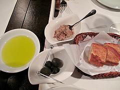 5夜の食事:前菜@La Terra(ラ・テッラ)・イタリアン・七隈