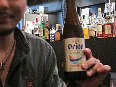 バー:オリオンビール@カフェ&バーGEPPO(ゲッポ)・薬院
