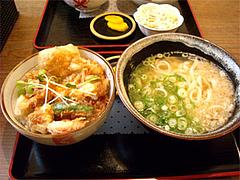 とり天親子丼セット@うどん屋『麺やほり野』