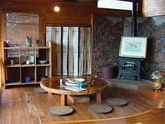 みのう山荘の食事・喫茶・休憩室