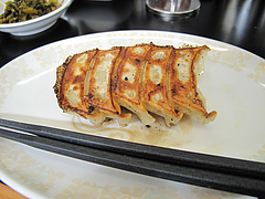 料理:【平日限定】餃子+100円@昇龍ラーメン博多本店・箱崎