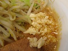 ランチ:ニラ担麺ニンニク@島系