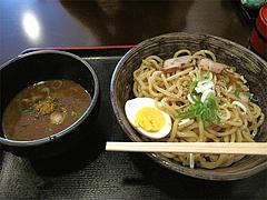 料理:綱場つけ麺並盛700円@とまと家・博多区綱場町