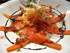 9パーティー:サーモンカルパッチョ@オリエンタルレストラン・サラマンジェ・キャナルシティ博多