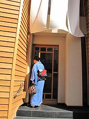 外観:入り口@元祖博多めんたい重・西中洲