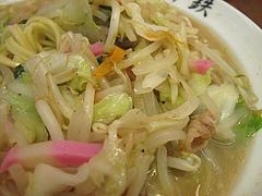 ランチ:ちゃんぽん野菜280g@ちゃんぽん座・十鉄・西新商店街