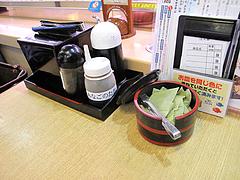 店内:卓上@回転寿司・博多玄海丸・野間