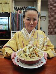 1ランチ:野菜山盛りチャンポン600円@威風堂々・居酒屋・六本松