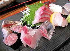 料理:刺身定食の刺身1@海鮮食堂 博多まかない屋・住吉