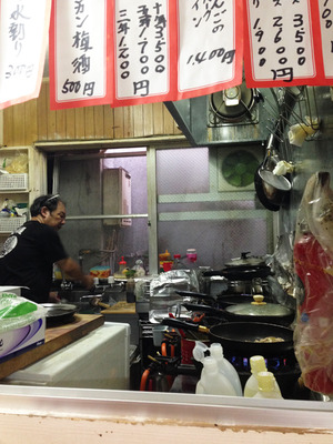 11餃子焼き@べんり屋・栄町市場