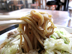 料理:皿うどん麺@大鹿(だいろく)・高宮