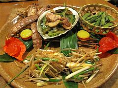 料理:おまかせコース5炒め物とおつまみ@博多一梅(ひとばい)