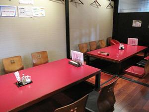 3掘り炬燵テーブル@福寿飯店