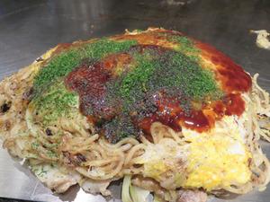 19肉玉そば790円+野菜大盛100円@たいちゃん