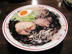 17ランチ:黒とんこつ520円@博多屋台ラーメン・満麺屋・北天神