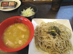 6黄金の鶏白湯つけ麺850円@海鳴・平尾