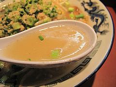 料理:もやし炒めラーメンスープ@麺屋・一の坊