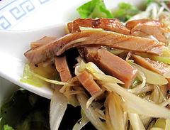 料理:ネギ汁そば(葱油湯麺)チャーシュー@中華料理・点心楼・台北・若久