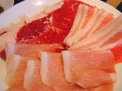 タイスキのしゃぶしゃぶ肉@MKレストラン野間店