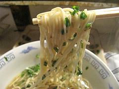 料理:ラーメン麺@屋台・新妻・天神・福たび