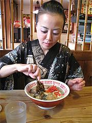 ラーメン食べる@めんくいや・福岡市中央区渡辺通
