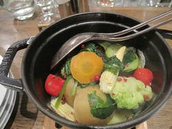 15メニュー:野菜たっぷりのブレゼ@ビストロタカギ