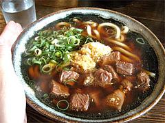 肉肉うどん580円@元祖肉肉うどん・店屋町店