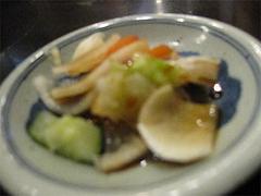 ランチ:定食の漬物@中華・珍萬21・港