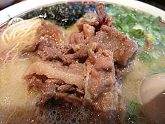 14ランチ:博多肉そばのピリ辛・甘辛肉@一風堂・薬院店