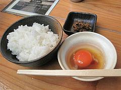 ランチ:日本一のこだわり卵かけご飯セット@麺劇場・玄瑛