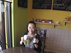 ビールとアタシ@インターネットカフェ・レストラン・キャットクレア・グアム