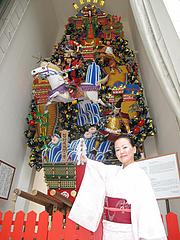 外観:櫛田神社・常設飾り山@博多つけ蕎麦・串揚げ・博多大乗路・櫛田神社