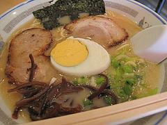 料理:ラーメン600円@ラーメン一龍・小倉