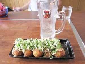 9たこ焼き醤油味350円+ネギ50円@味鉄