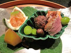 懐石:八寸@日本料理・浄水茶寮・薬院