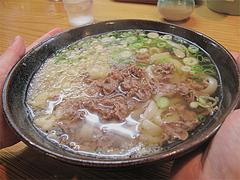 料理:肉(うどん)470円@葉隠うどん・博多駅南