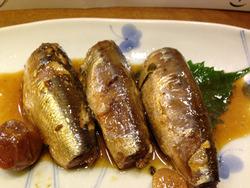 9小いわしの梅酢煮@祥茶ん
