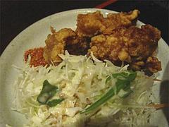 21ランチ:小さい中華丼セット唐揚げ@ラーメン居酒屋・長浜将軍・門