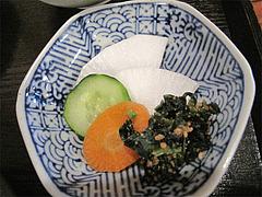 料理:野の花膳・香の物@おちゃの舎 野の花・福岡県小郡市