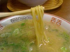 料理:ラーメン麺@ふくちゃんラーメン博多店