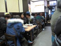 3店内:テーブル席@元祖赤のれん和亭(旧・節ちゃんラーメン住吉店)
