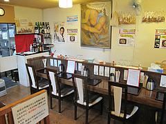 3店内:カウンター席と小上がり@浪花うどん満永